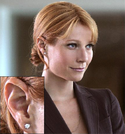 'Virginia 'Pepper' Potts' wears Ross Group client Damiani in 'Iron Man'